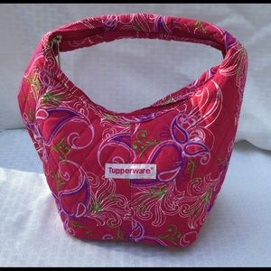 👜 Tupperware insulated small zippered tote